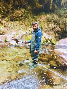Staff Gauge Installation and Discharge Measurement of Khimti River and Ghwang Khola.