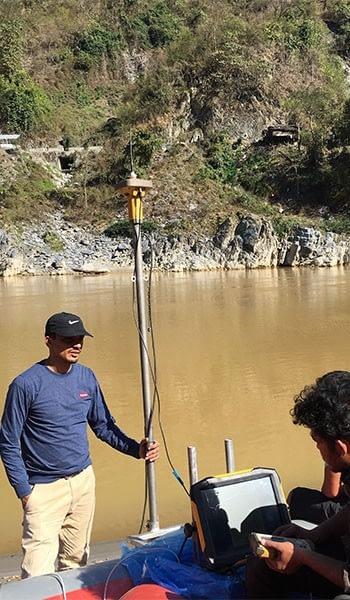 Bathymetric Survey of Trishuli River for Design of River Training Works Along Mugling-Narayanghat Road