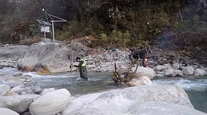 Supply and Installation of Satellite Based Automatic Water Level Recorder including one-time discharge measurement for Nyadi Phidi Hydropower Project
