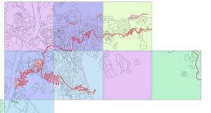 Support for Cadastral Mapping for SKHEP