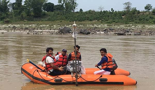 Cross-section and Longitudinal Survey (Bathymetric Survey) of Narayani River for Pre-feasibility Study of Water Inland Navigation Project