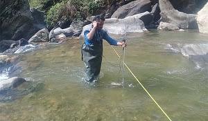 Sedimentation Study work of Betan Karnali Hydroelectric Project