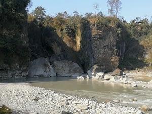 Design of River Protection Works at Pokhara International Cricket Stadium
