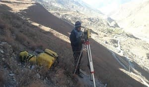 Survey works for Rupagad Hydropower Project (10 MW)