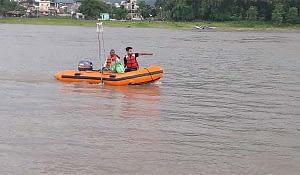 Bathymetric Survey of Narayani River at Bridge Location