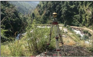 Super Nyadi Control Point Establishment and Drone Survey Work