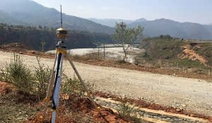Topographical Survey at Dam Site of Bheri 4 Storage Hydropower Project