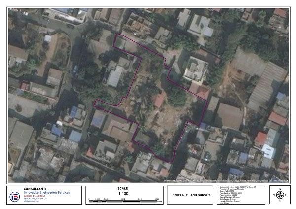 Property Land Area Survey