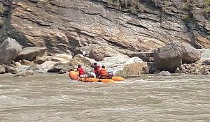 Bathymetric Survey of Kaligandaki River at Dam Site of Kaligandaki-Tinau Diversion Multipurpose Project