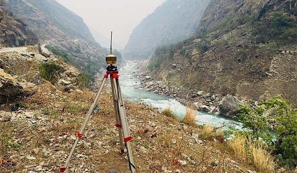 Topographic Survey and Mapping of Phukot Karnali Hydroelectric Project (PKHEP)