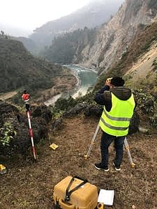 Topographic Survey of Kaligandaki Storage Hydropower Project (844 MW)