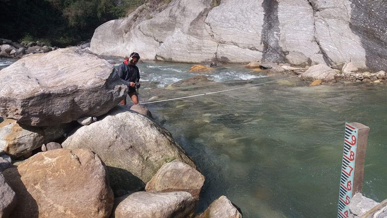 Staff Gauge Installation, Water Level Observation, Periodic Discharge Measurement, Sediment Sampling and Laboratory Analysis of Arun River for Upper Arun HEP and Ikhuwa Khola for Ikhuwa Khola HPP