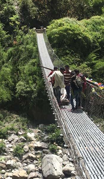 Topographic Survey, Gauge Instillation, Discharge Measurement, Sediment Sampling and Analysis of Budhi Gandaki Nadi Hydropower Project (BGNHPP)