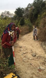 Topographic Survey and Mapping of Nepal Scout Land in Kakani