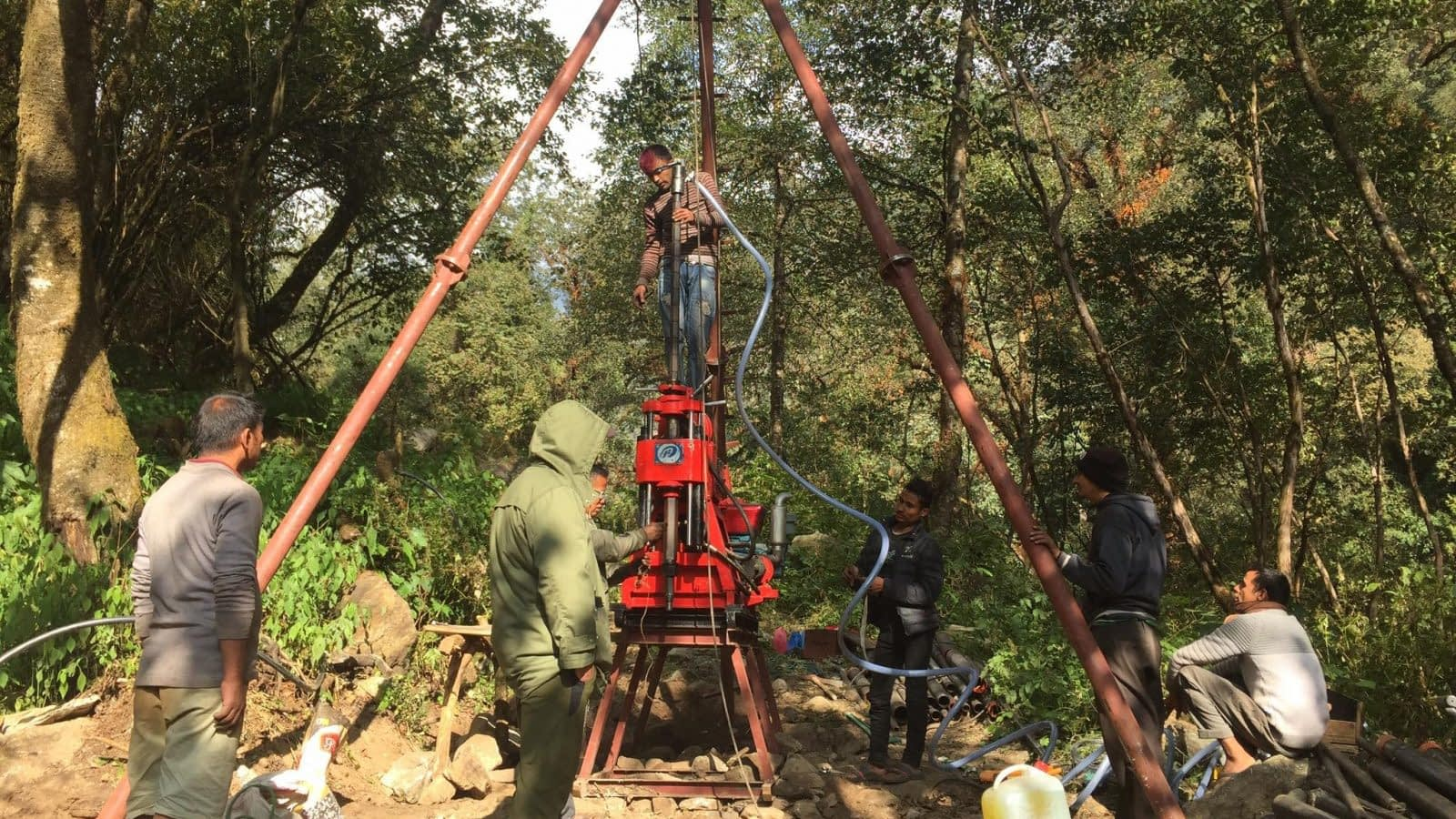 Geotechnical and Geophysical Investigations (Core Drilling and SRT) of Nupche Likhu Hydropower Project (57.5 MW)